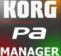 KORG PA Manager 3.3 Crack With Patch latest 2020