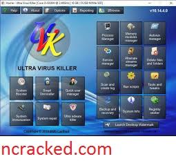 UVK Ultra Virus Killer 10.19.4.0 Crack