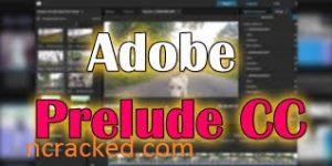 Adobe Prelude 2021 Crack