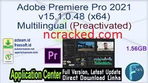 Adobe Premiere Pro 2021 Crack