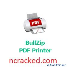 bullzip pdf printer crack