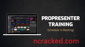 ProPresenter 7.5.1 Crack