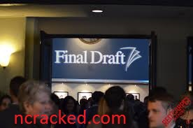 Final Draft 11.1.4 Crack