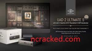 UAD Ultimate 9 Bundle Crack