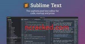 Sublime Text 4107 Crack