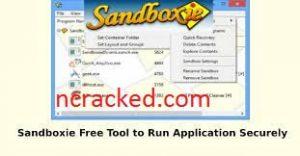 Sandboxie 6 Crack