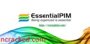 EssentialPIM Free 9.10 Crack
